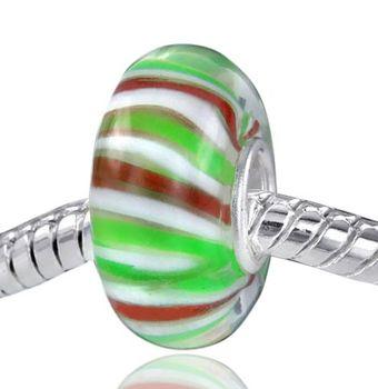 925 Sterling Silber Murano Glas Bead - Beads Modell: #555
