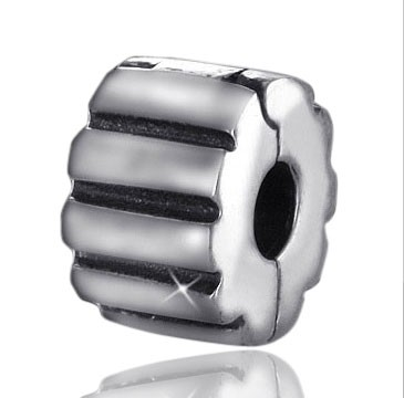 925 Sterling Silber Bead Element Stopper / Clip - Beads Modell: #842