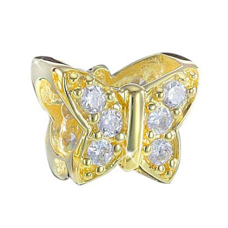 925 Sterling Silber Bead Element Schmetterling - Beads Modell: #692