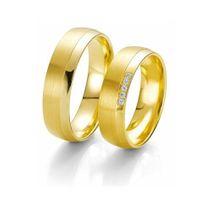 Trauringe / Eheringe / Gold / Gelbgold 585