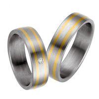 Trauringe / Ringe / Eheringe / Titan / Gold