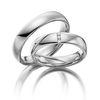 Trauringe Eheringe Verlobungsringe Gold Palladium Platin Weißgold Silber Diamant