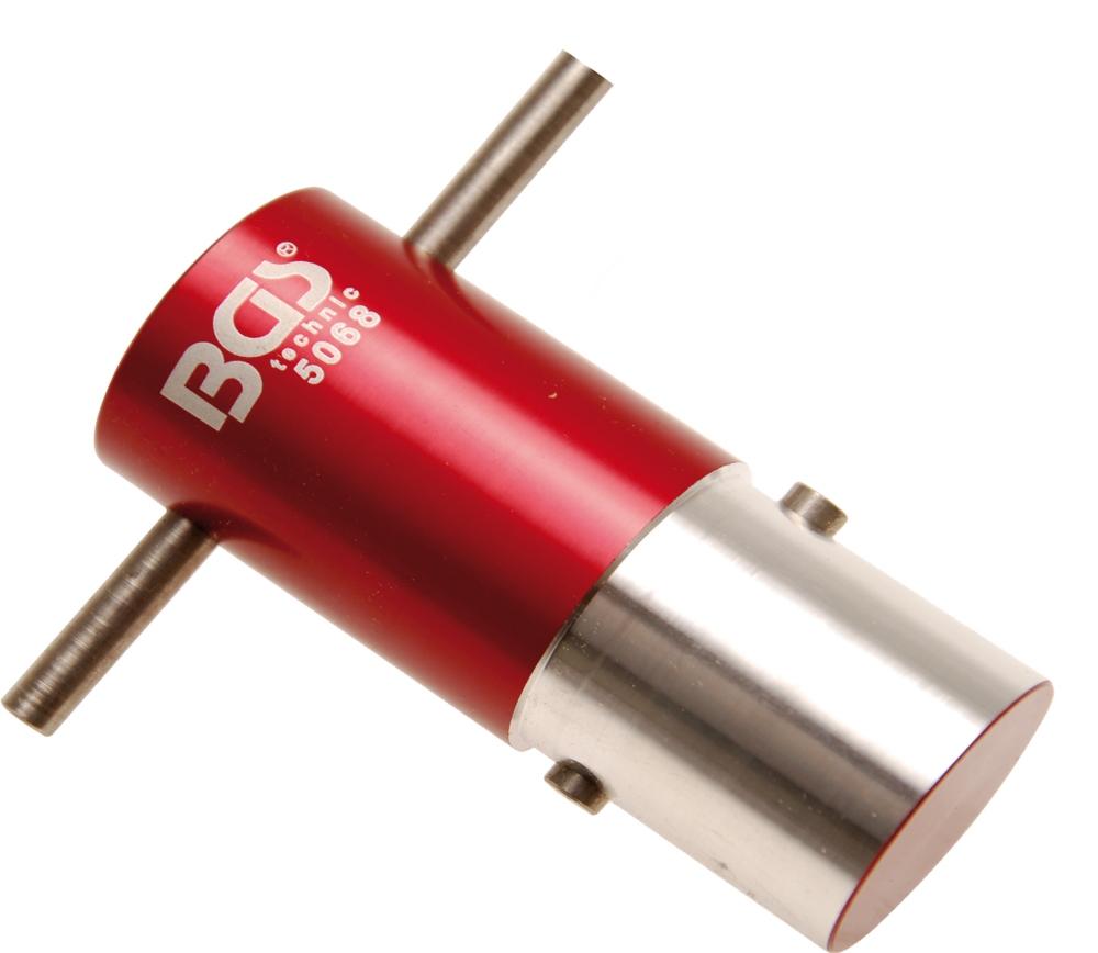 BGS 5068 Ausrichtwerkzeug Vorderachse für Ducati Ø 30mm für Motorrad