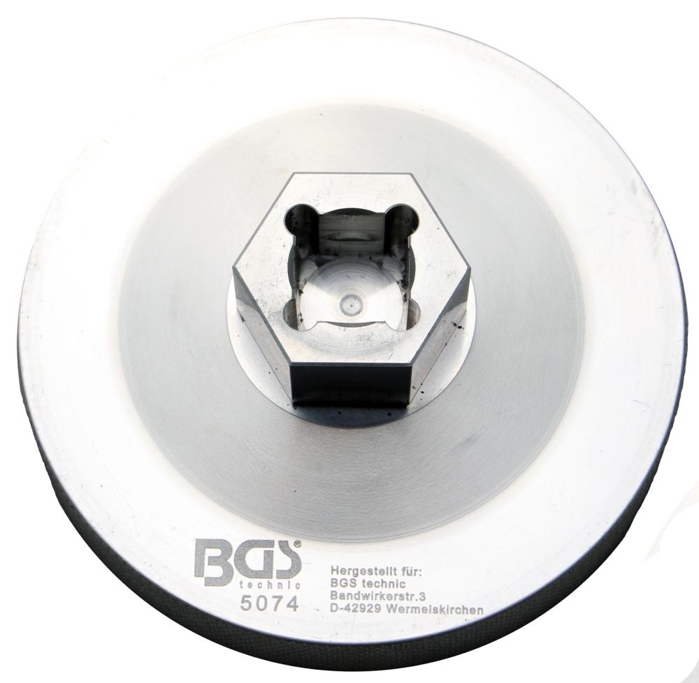 BGS 5074 Ölfilterschlüssel 14-kant Ø 76 mm für BMW-Motorräder, Ducati, Harley-Davidson
