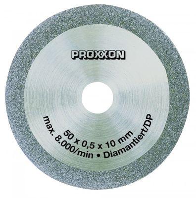 PROXXON 28012 Diamant Sägeblatt diamantiert Trennsägeblatt für GfK Leiterplatten Ø50mm