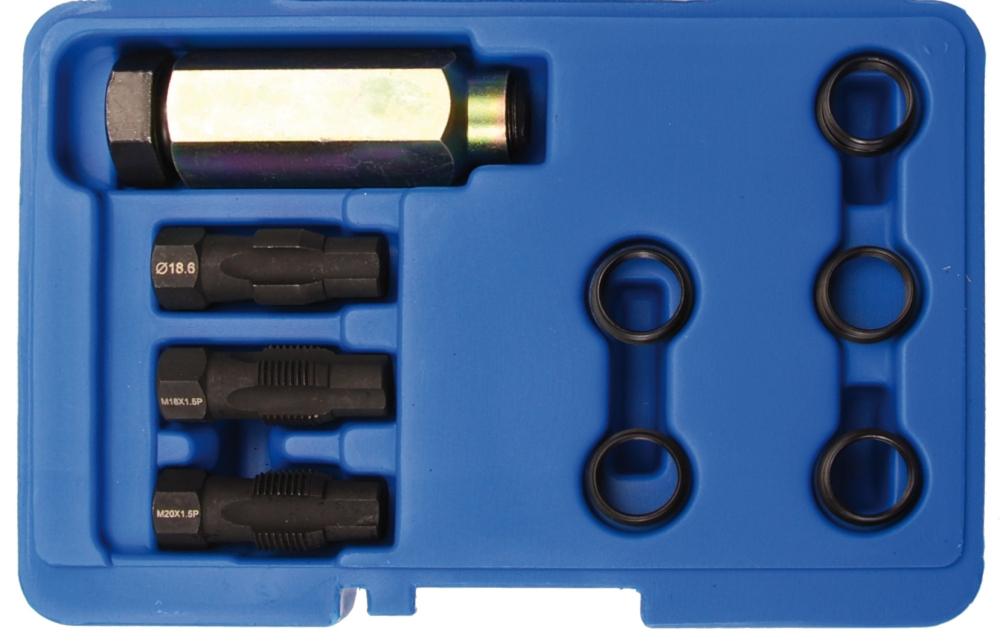 BGS 66215 Reparatursatz für Lambdasonden-Gewinde 9 teilig