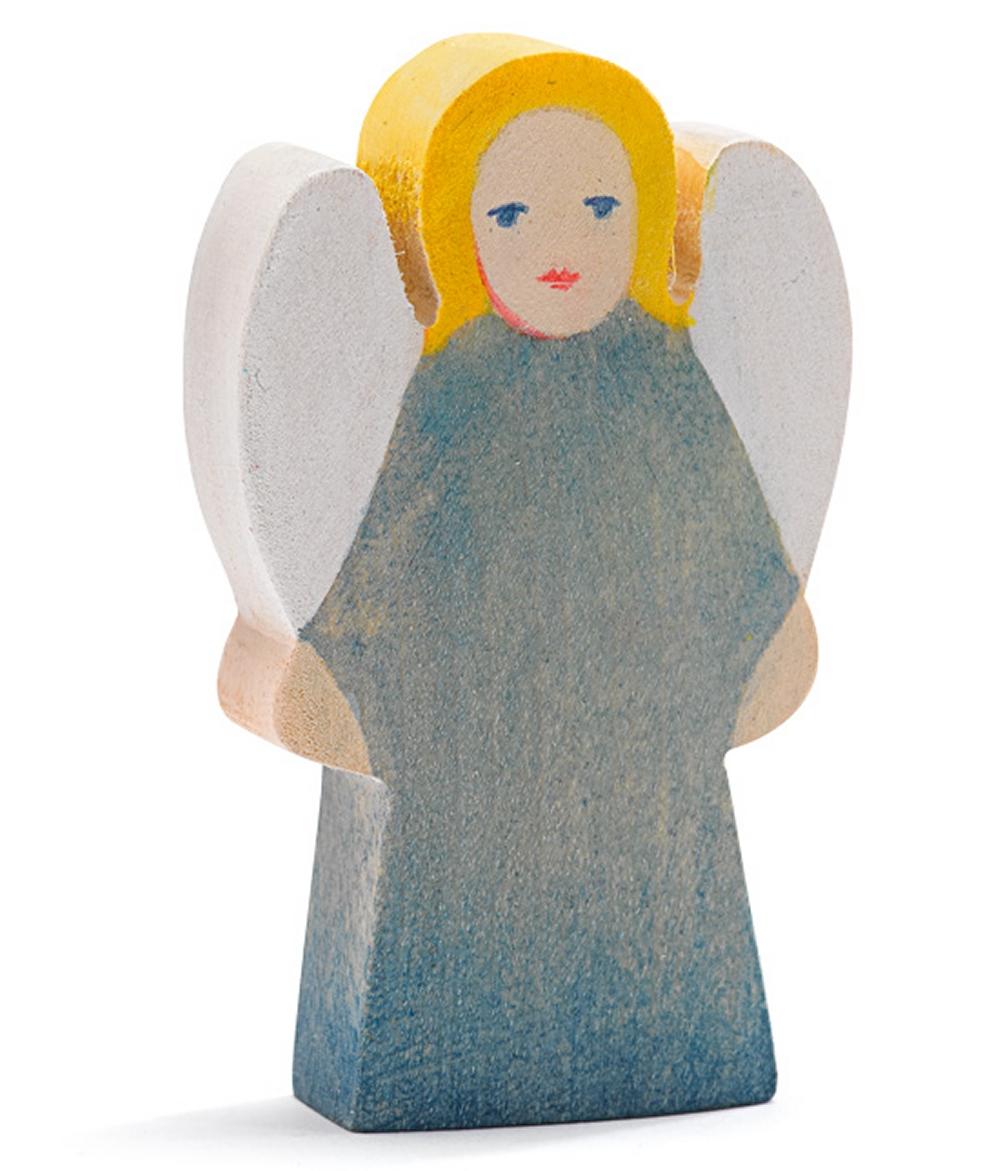 Ostheimer 5530282 Engel blau Höhe 6,5cm