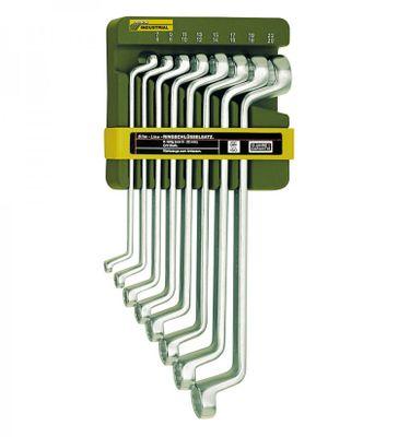 PROXXON 23810 Satz Doppelringschlüssel 6-22mm 8 teiliger Satz mit Wandhalter
