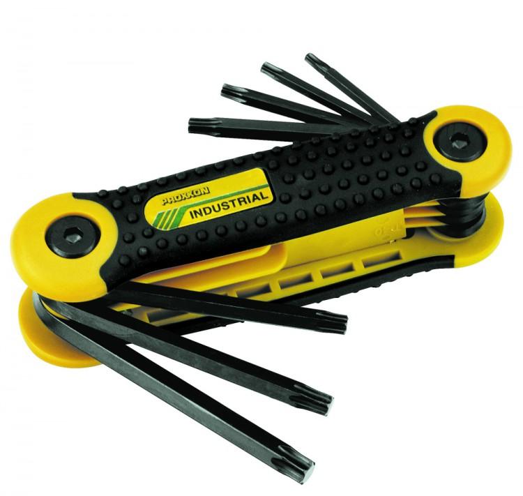 PROXXON 23954 TORX Pocket Schlüsselsatz TX9-40 8 teilig
