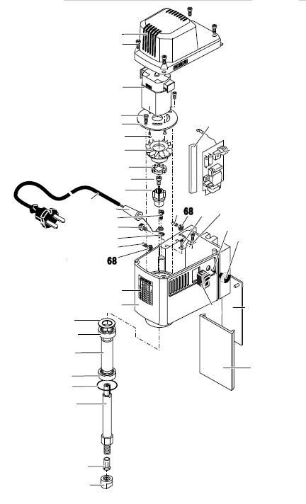 PROXXON 27110-68 Kontermutter für Micro-Fräse MF 70