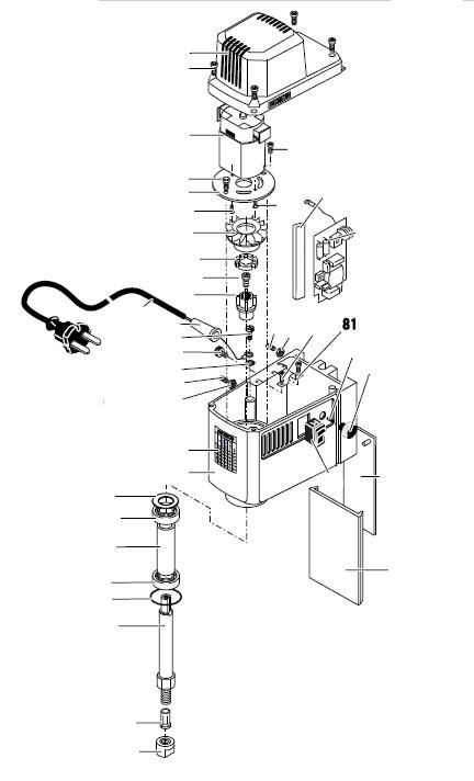 PROXXON 27110-81 Zugentlastung für Micro-Fräse MF 70