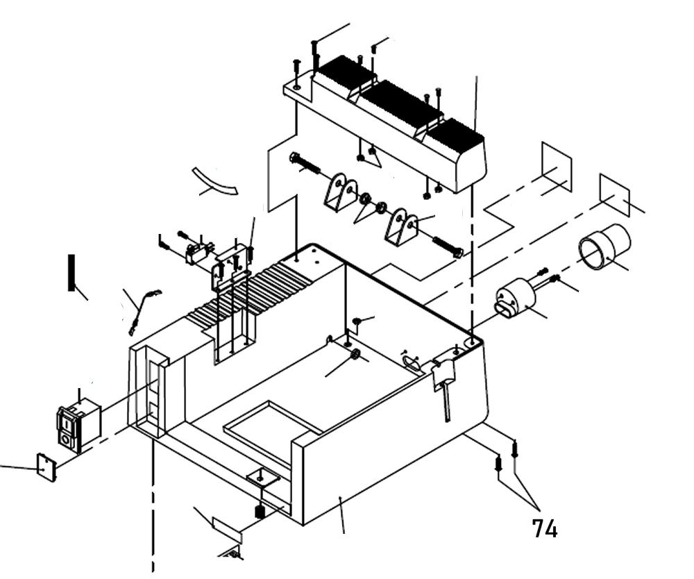PROXXON 27070-74 Schraube für Feinkreissäge FET