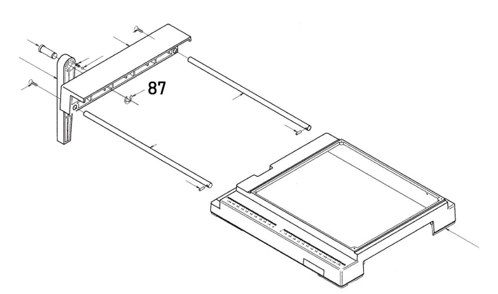 PROXXON 28070-87 Sicherungsring für Feinschnitt-Tischkreissäge FKS/E