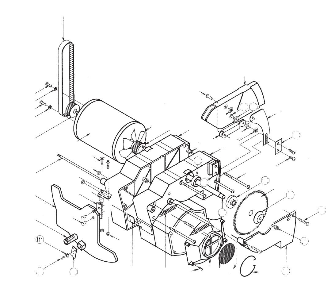PROXXON 28070-111 Scheibe für Zeiger Feinschnitt-Tischkreissäge FKS/E