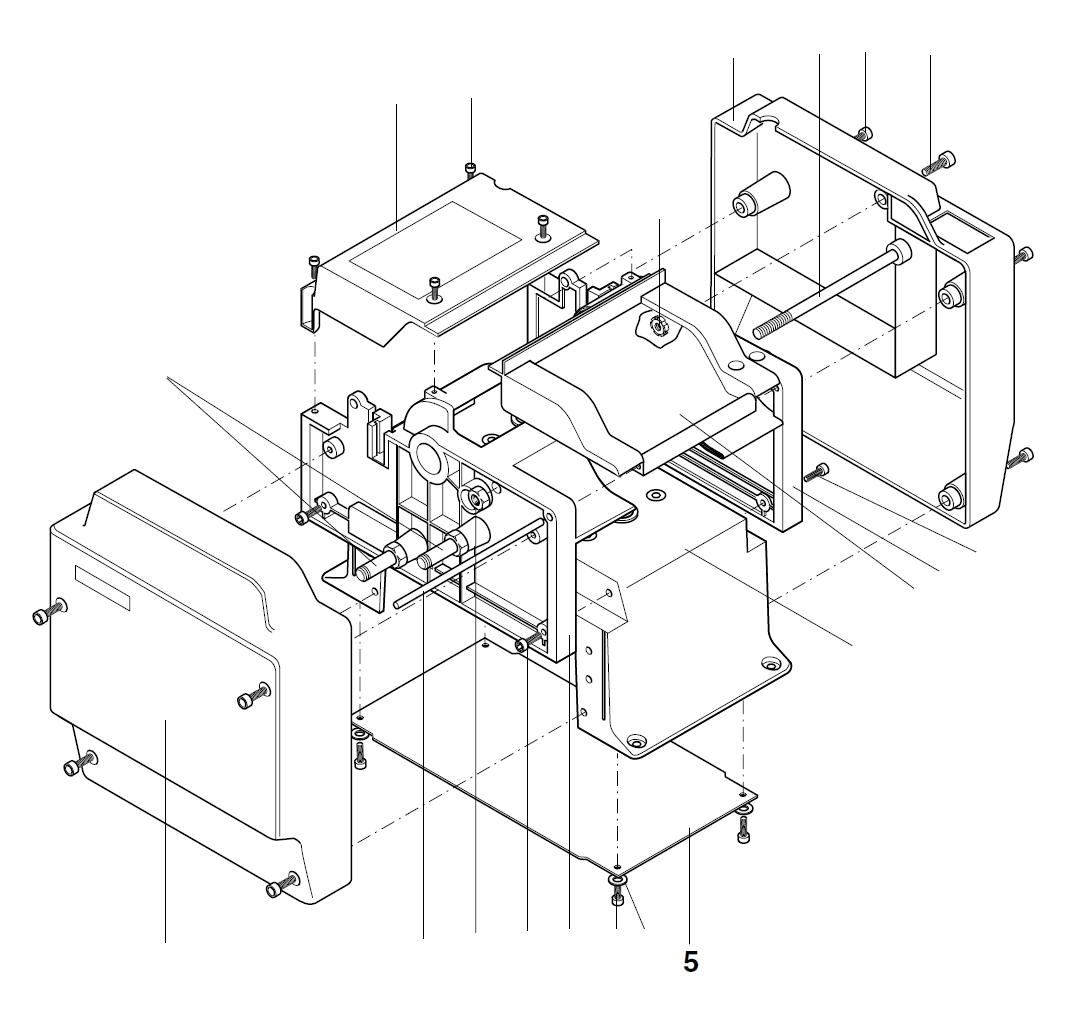 PROXXON 27040-01-05 Platte für Dickenhobel DH40