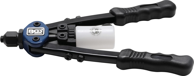 BGS 409 Langarm Nietzange mit Sammelflasche mit hoher Hebelwirkung