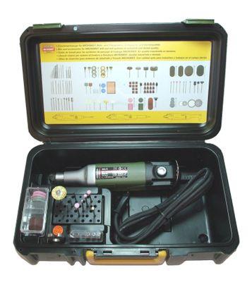 PROXXON 28481 Industrie Bohrschleifer IBS/E (IB/E) mit Zubehör im Koffer