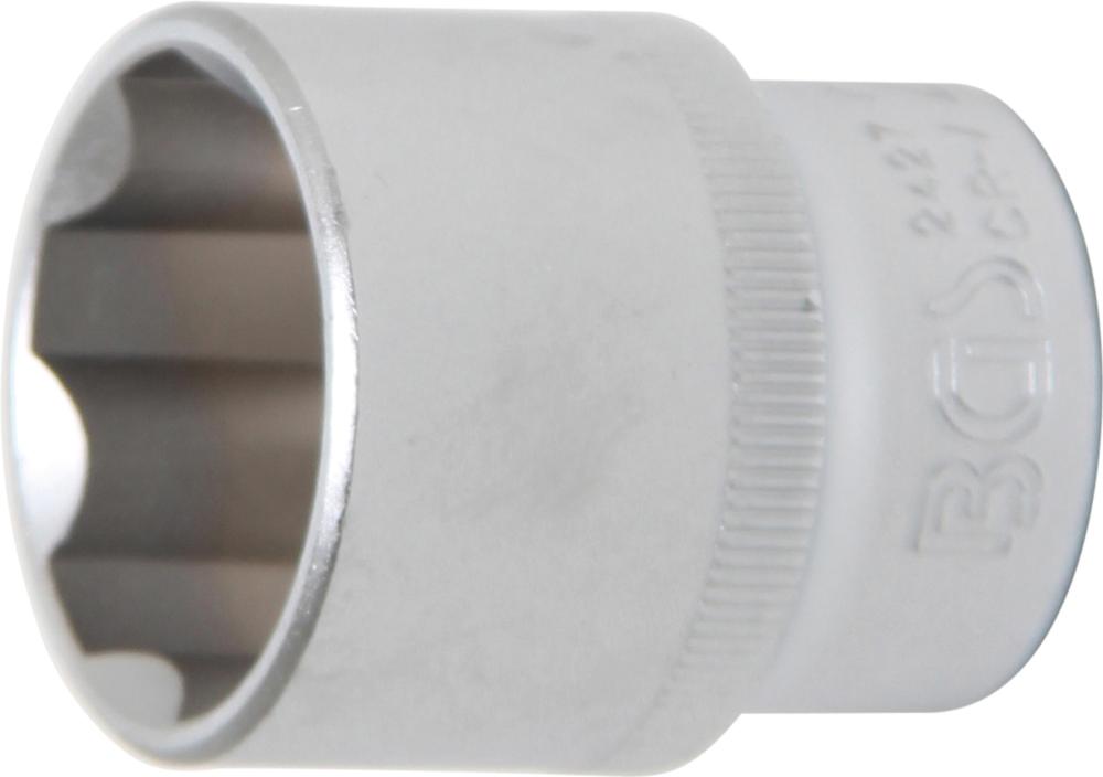 BGS 2427 Nuss / Stecknuss 27mm Super Lock Wellenprofil Antrieb 12,5mm (1/2
