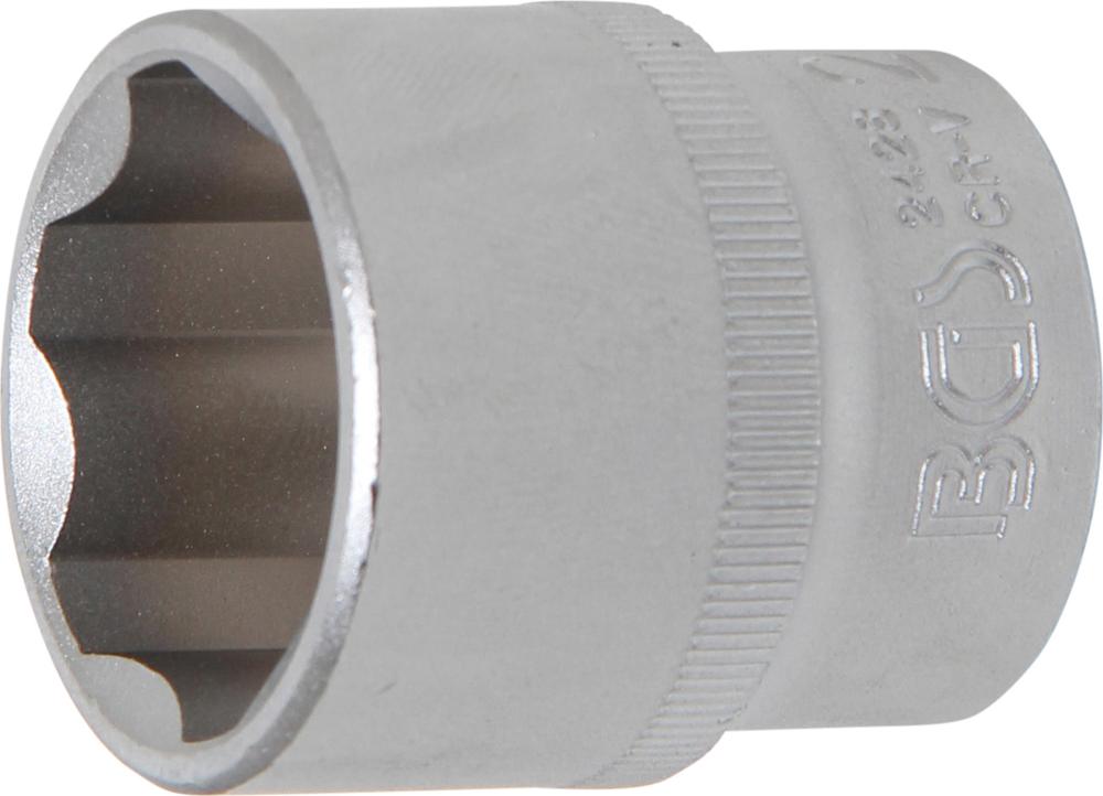 BGS 2428 Nuss / Stecknuss 28mm Super Lock Wellenprofil Antrieb 12,5mm (1/2