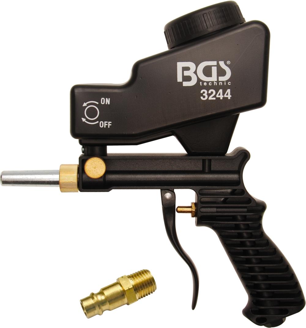 BGS 3244 Druckluft Sandstrahlpistole Sandstrahlgerät mit Vorratsbehälter 600cm³
