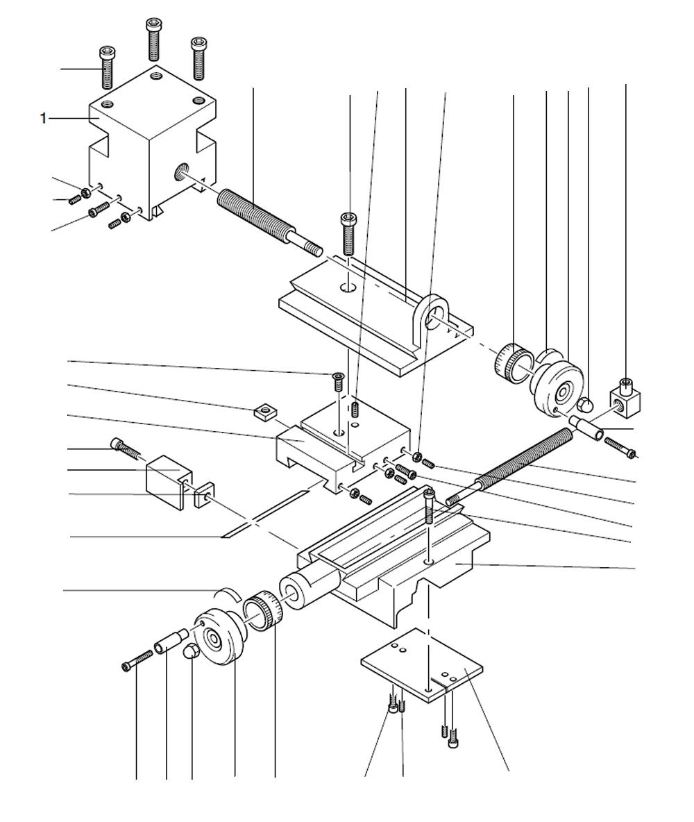 PROXXON 24004-03-01 Werkzeugträger für Drehmaschine PD 230/E