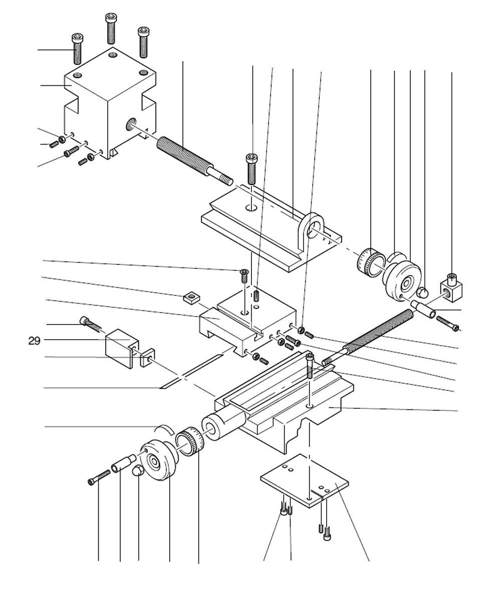 PROXXON 24004-03-29 Abdeckung für Drehmaschine PD 230/E