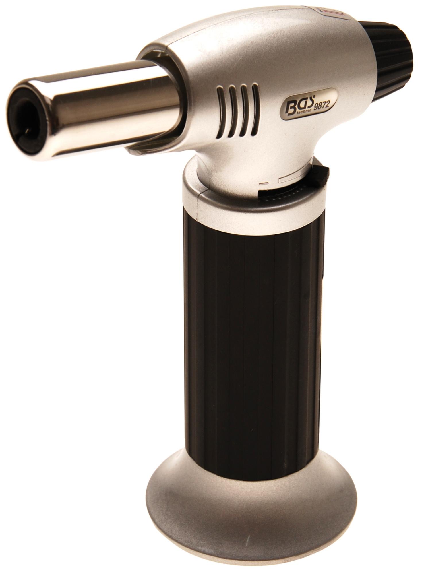 BGS 9872 Taschen Gasbrenner zum Löten, Flambieren, Entflammen