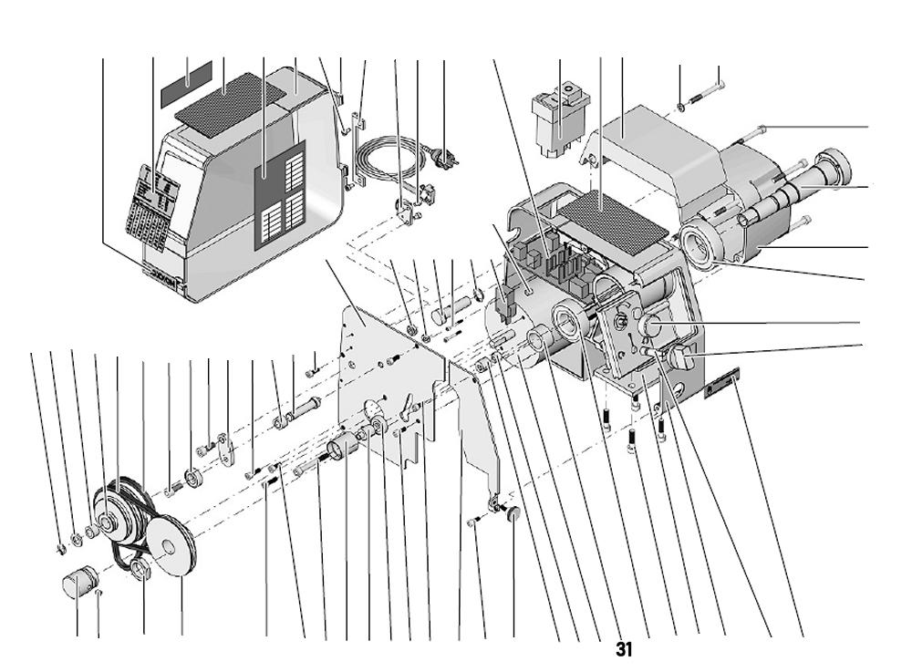PROXXON 24002-01-31 Distanzring für Drehmaschine PD 250/E