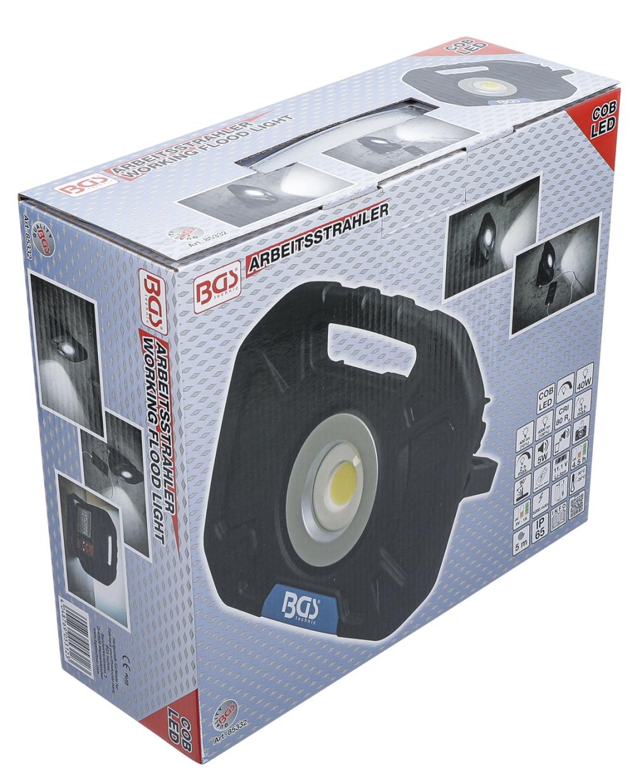 BGS 85332 COB-LED Arbeitsstrahler 40W mit integrierten Lautsprechern