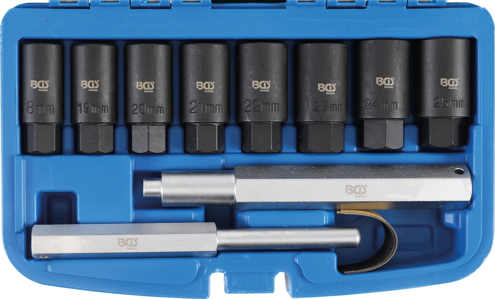 BGS 8656 Satz Demontagewerkzeug für Felgenschlösser 10 teilig
