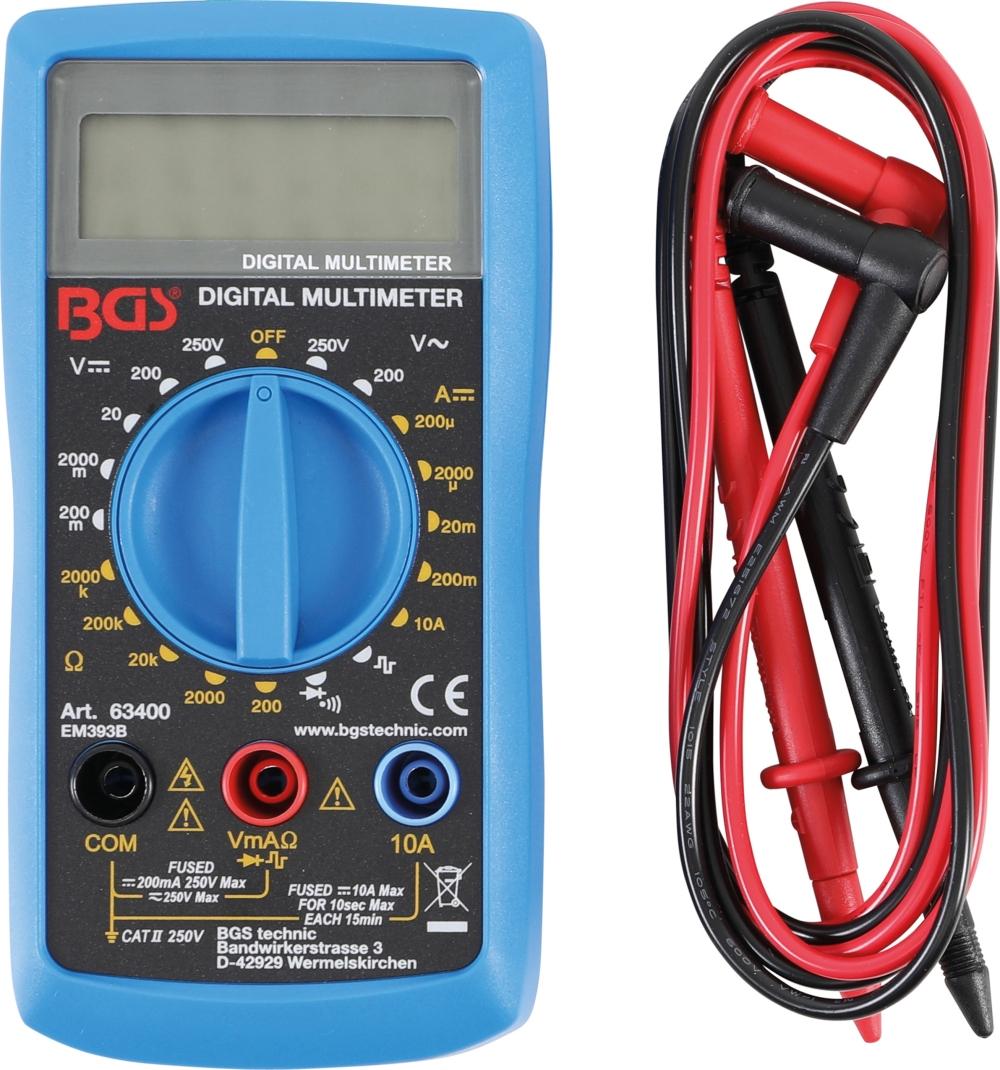 BGS 63400 Digitales Multimeter