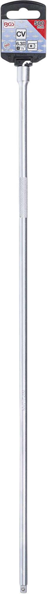 "BGS 2211 Verlängerung 6,3mm (1/4"") Länge 500mm"