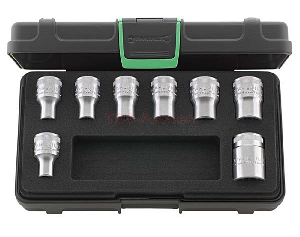 """STAHLWILLE  50TX/8 TORX E-Profil Nüsse Steckschlüsseleinsätze Antrieb 12,5mm (1/2"""") - 96033704"""