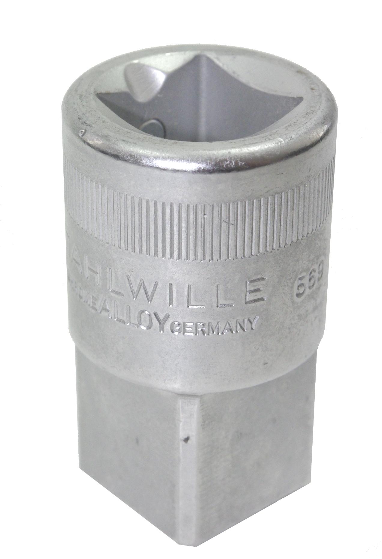 """STAHLWILLE 569 Übergangsteil Adapter von 20mm (3/4"""") auf 25mm (1"""") Antrieb - 15030006"""