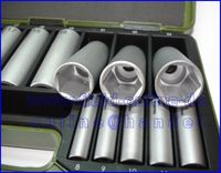 PROXXON 23292 Satz Nüsse lange Ausführung 6,3mm (1/4 ) + 12,5mm (1/2 )