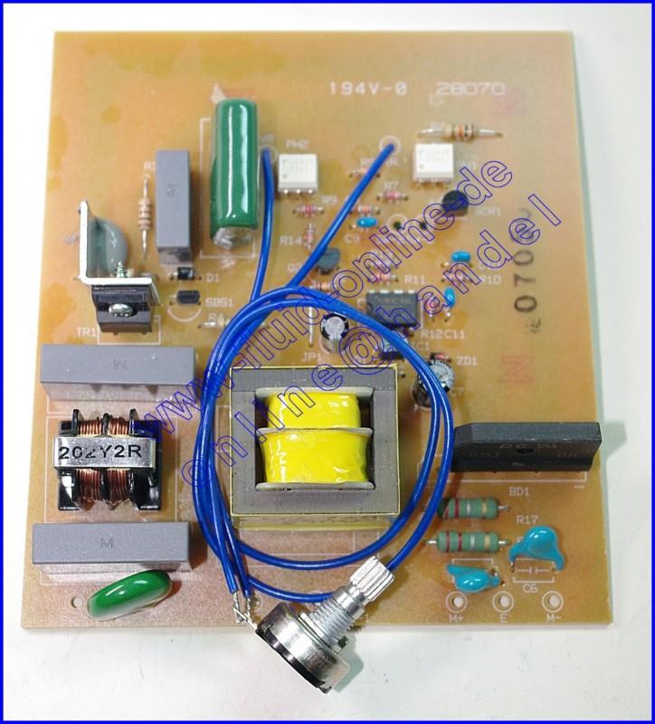 PROXXON 28070-133 Platine für Feinschnitt-Tischkreissäge FKS/E