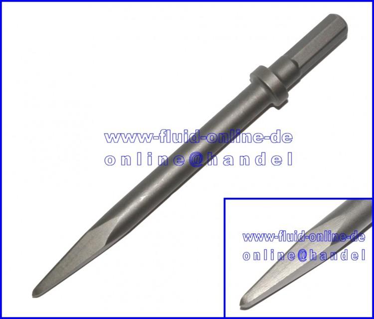 RODCRAFT SS10K Spitzmeißel kurz Länge 135mm 11mm Sechskant