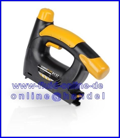 VARO POWX137 AKKU Tacker / Hefter / Nagler mit Zubehör und Koffer