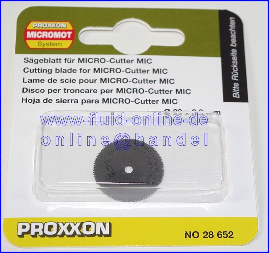 PROXXON 28652 Sägeblatt / Ersatzblatt für MICRO-Cutter MIC