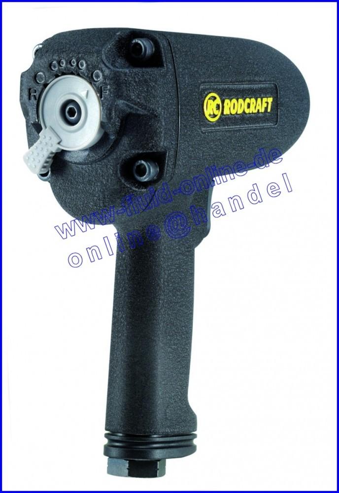 RODCRAFT RC2257 Schlagschrauber DUOPACT max. 950Nm Antrieb 12,5mm (1/2