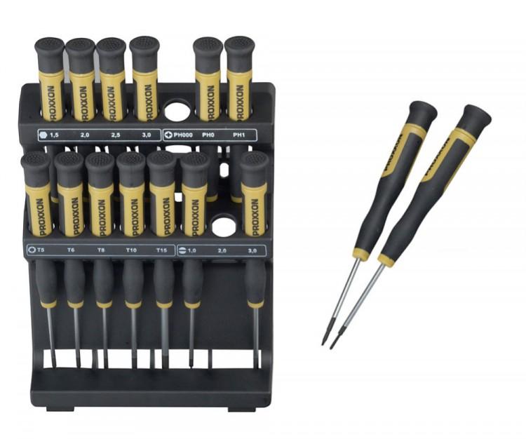 PROXXON 28148 Micro Driver Feinstschraubendreher für Elektroniker, Kamerabauer, Uhrmacher