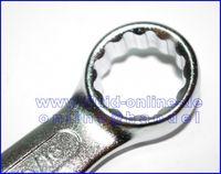 ZOLL Satz Ringmaulschlüssel / Ring Gabelschlüssel 12teilig von 1/4  - 15/16