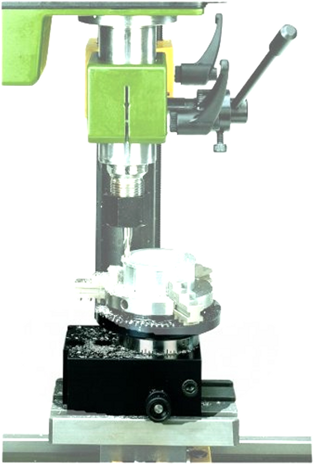 PROXXON 24131 Teilapparat TA 230 für Drehmaschine PD230/E Feinfräse PF230 und FF230