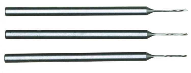 PROXXON 28864 HSS-Micro-Spiralbohrer Durchmesser 0,5mm, 3 Stück/Pack