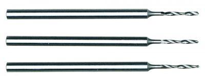 PROXXON 28854 HSS-Micro-Spiralbohrer Durchmesser 1,0mm 3 Stück/Pack