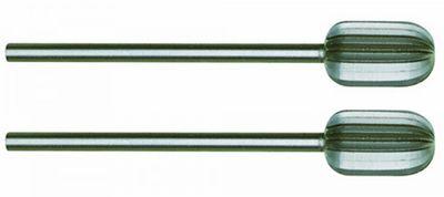 PROXXON 28726 Zylinderfräser (Wolfram-Vanadiumstahl) Ø8mm 2 Stück