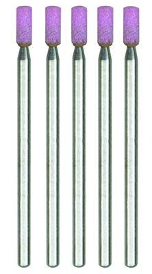 PROXXON 28774 Edelkorund Schleifkörper Form Zylinder 5 Stück / Packung