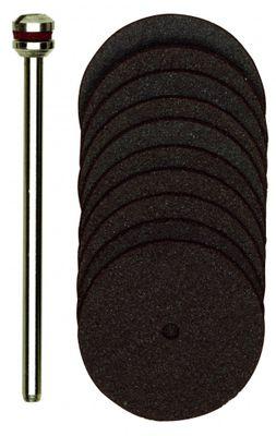 PROXXON 28810 Trennscheiben Korund Ø 22mm 10 Stück+1 Träger