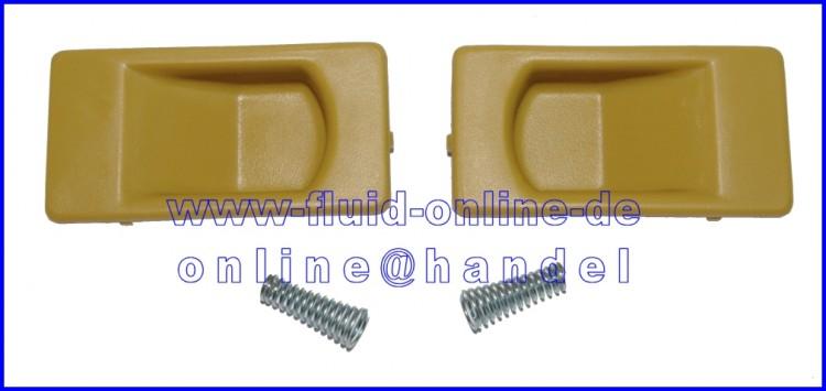 PROXXON Paar Schiebeverschluß 2 für kleine Kunststoffkoffer, gelb PROX_verschluss_gelb_klein
