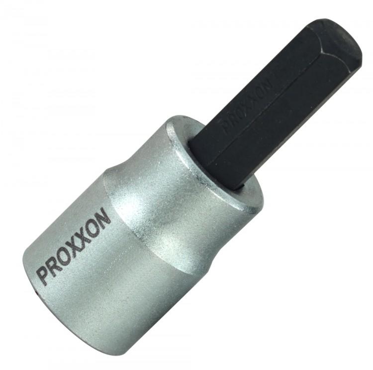 "PROXXON 23581 HX10 Innensechskant Bit Einsatz 10mm Antrieb 10mm (3/8"")"